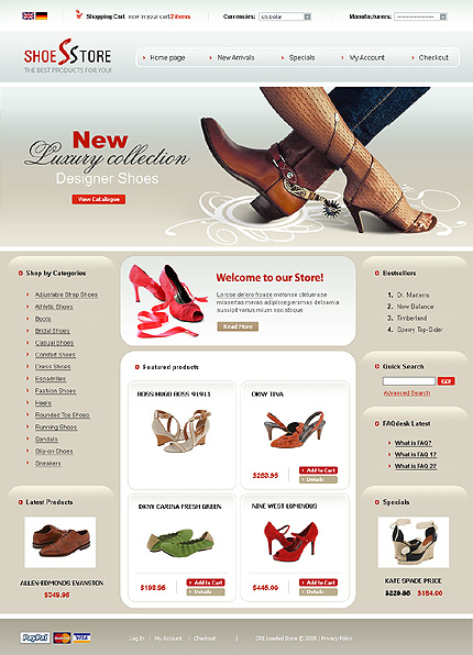 Shoe websites for women. Cheap shoes online