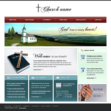 Joomla Templates Free Church