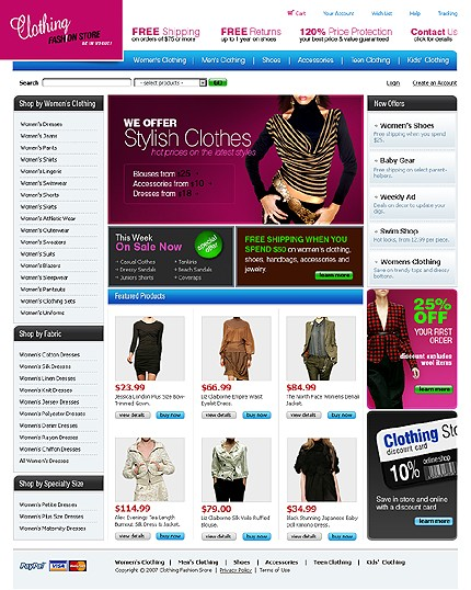 Designer Clothing Online Websites A new fashion clothing store