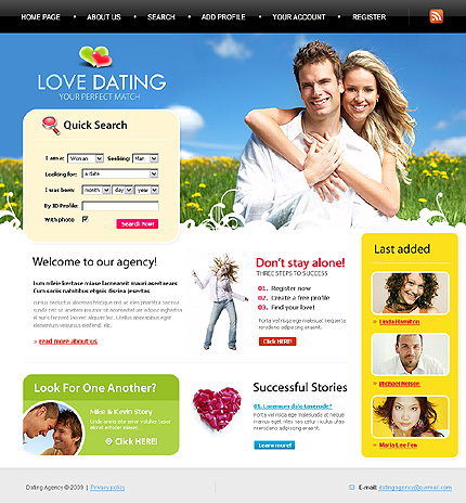 Help with dating site profile for Dating site description template
