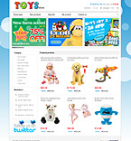 osCommerce Templates. Template #27358